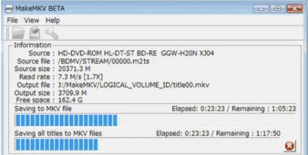 Blu-ray zu MKV rippen