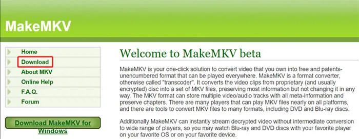 MakeMKV Linux Download