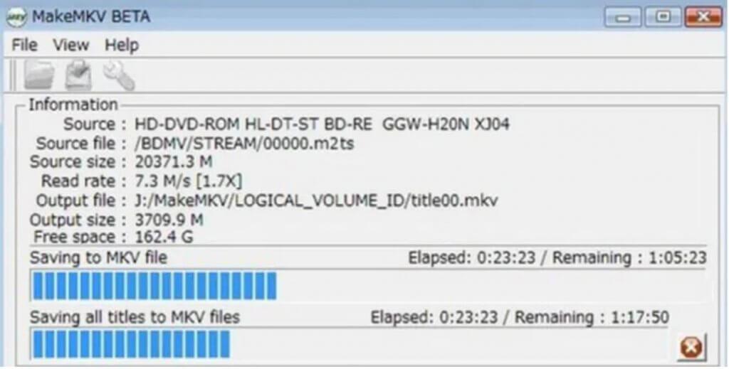 Wie rippen Sie Blu-rays auf Linux kostenlos mit MakeMKV Beta